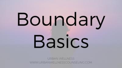 boundary basics